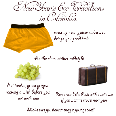 New Year's Eve Traditions in Colombia