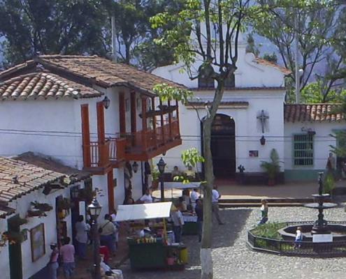 Medellin's Pueblito Paisa