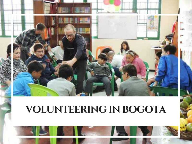 Volunteering in Bogota. By: Our Students
