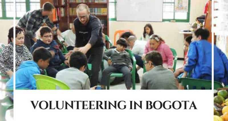 Spanish Students volunteering in Bogota, Colombia