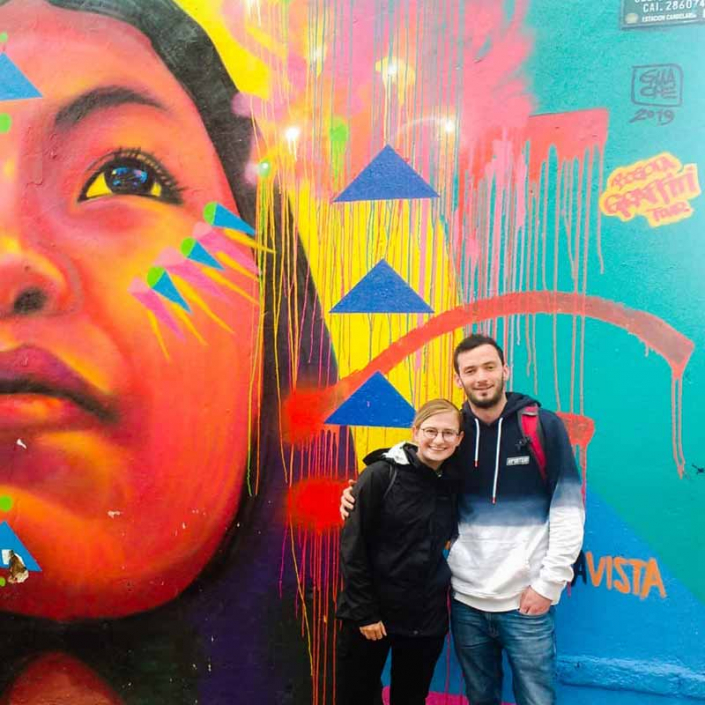 Bogota Spanish School - Graffiti Tour