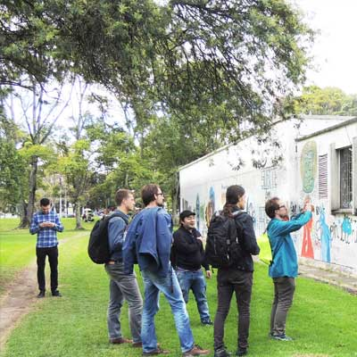 Spanish School Colombia - Social Activities: National University Tour