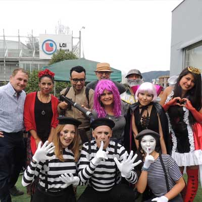 Spanish School Colombia - Social Activities: Halloween Party 2019