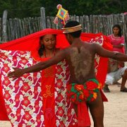 Wayuu, an indigenous ethnic group, living in Guajira Peninsula
