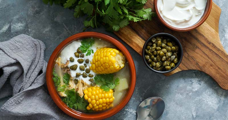 Learn about Colombian food while improving your Spanish language