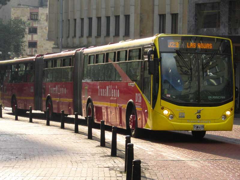 Bogota Transmilenio bus rapid transit (BRT) system